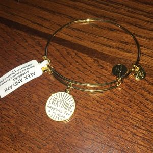 Alex & Ani everything happens for a reason bangle